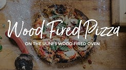 Wood Fired Pizza on the Uuni 3 Portable Wood Fired Oven