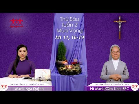 Lũ Trẻ Ngồi Ngoài Chợ - Thứ Sáu tuần 2 mùa Vọng (Mt 11, 16-19)