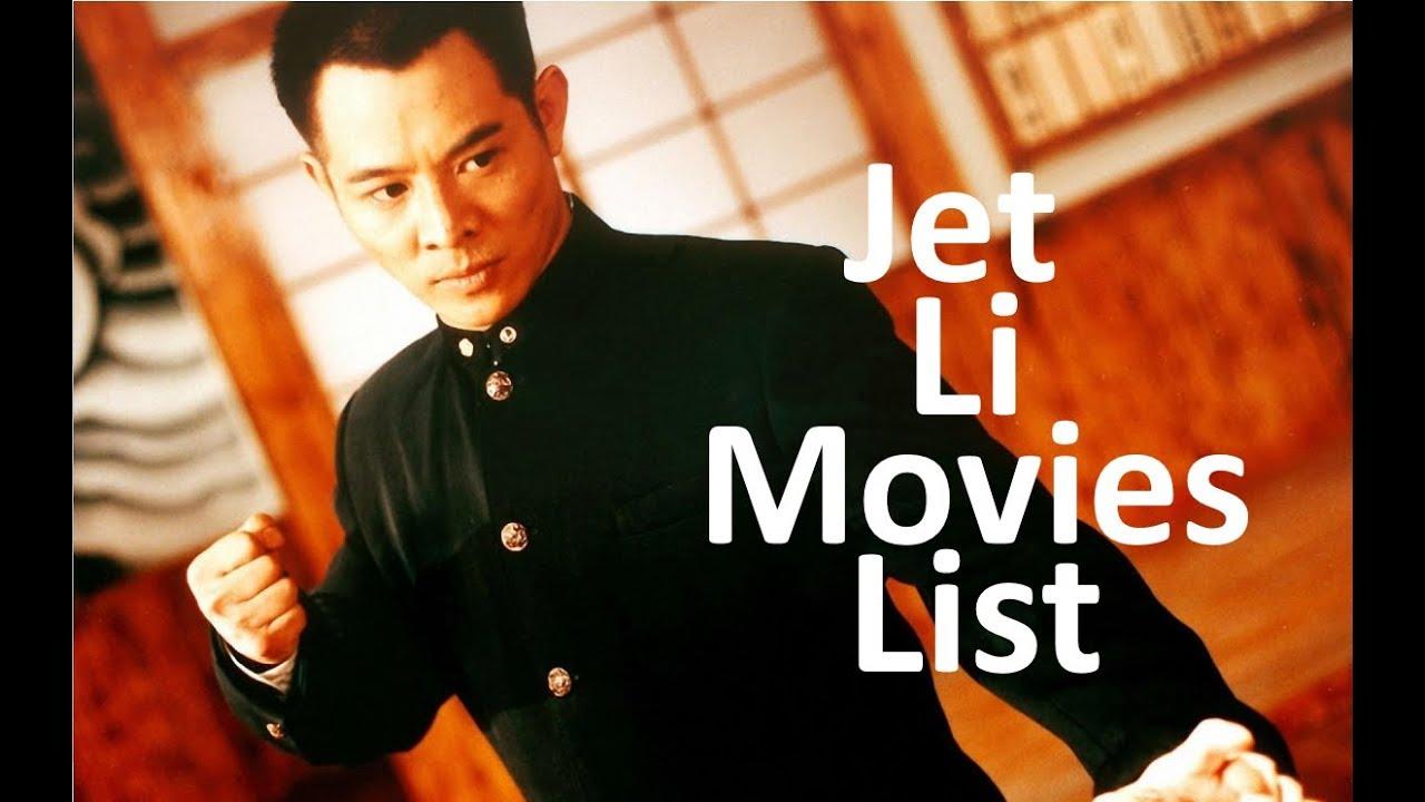 A List Of Jet Li Movies