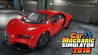 Car Mechanic Simulator #9 - Phục chế lại siêu xe Bugatti Chiron từ bãi rác | ND Gaming