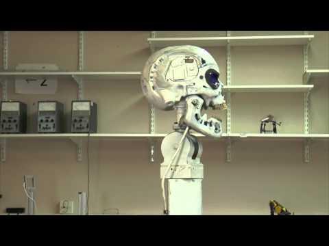 Prof Kevin Warwick - Robot demo