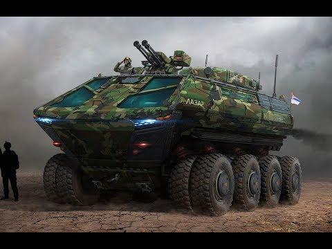 Unapređenje Lazar oklopnih vozila - Improvement of Lazar APC