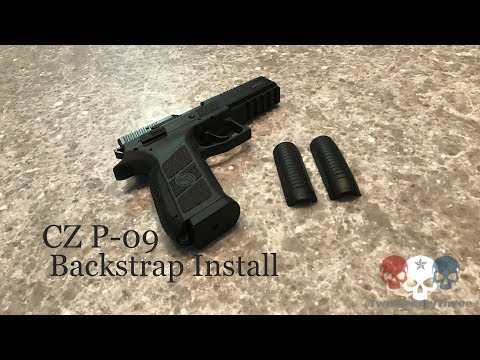 CZ P-09 Backstrap Swap - A How To