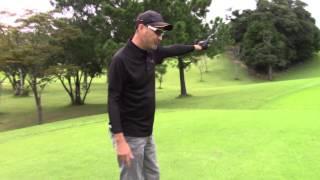 マーク金井と森下千里のゴルフを極める「ゴル極」 狙った方向に打つには 森下千里 検索動画 28