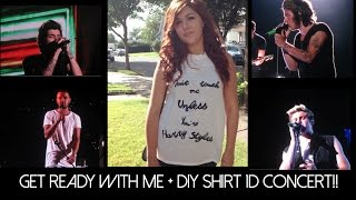 DIY One Direction shirt + get ready with me for the 1D concert! Thumbnail