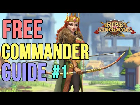 F2P Must Have Legendary Commander # 1 [ AethelFlaed ] Guide in ROK | Rise of Kingdoms