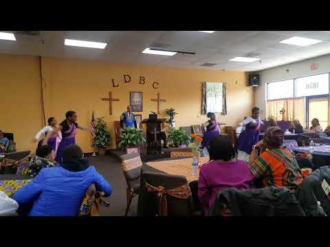 LDBC Uplifting Praise Dancers- African Melody Performance