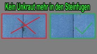 Niemehr Unkraut In Den Steinfugen – Unkraut In Fugen / Gehweg Verhindern !