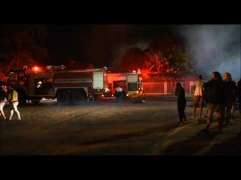 Kalahari-Bulletin: Huis brand af op Upington