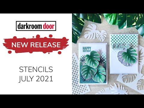 Darkroom Door New Release STENCILS July 2021