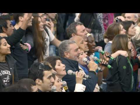 T-Mobile Sing-along - Trafalgar Square
