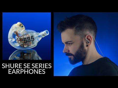 Best In-Ear headphones from the Shure SE Series