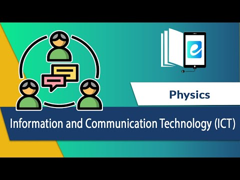 Information And Communication Technology (ICT) – Components Of CBIS