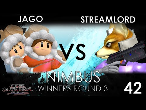 Nimbus #42 - FSG | Jago (Ice Climbers) VS 20XX | Streamlord (Fox) - SSBM Winners Round 3