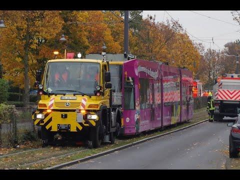 Unimog überführt Straßenbahn in Bonn!