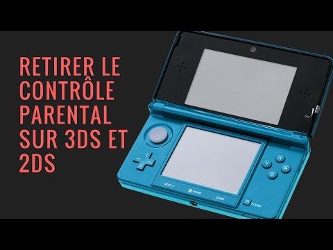 Enlever le code parentale Nintendo 3DS et 2DS