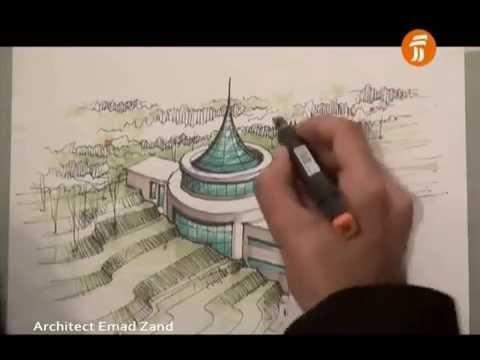 Mimari Perspektif çizimi Mimarlık çizim Teknikleri Perspektif