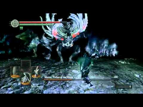 Dark Souls - Manus, Father of the Abyss Boss Fight