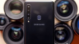 Samsung Galaxy A9 Review | حتى اربع كاميرات مش كفاية !!