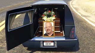 Entire Server Gathers For Rick Harrisons Funeral.. (GTA RP)