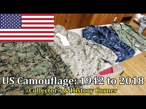 US Camouflage: 1942 to 2018 | Collector's & History Corner