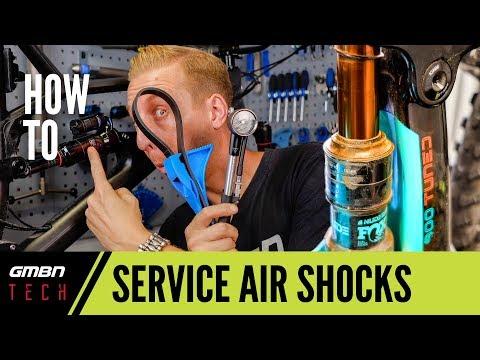 Basic Mountain Bike Air Shock Service