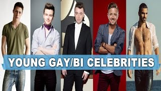 Top 50 Openly Young Gay/Bi Male Celebrities Under 40