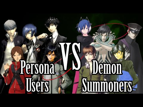 Persona Users Vs. Demon Summoners (ft. Fither)