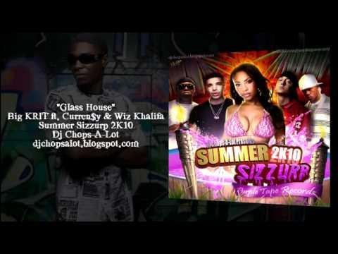 Big KRIT ft. Curren$y & Wiz Khalifa - Glass House - Skrewed & Chopped by Dj Chops-A-Lot