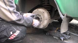 Докатался-замена тормозных колодок ВАЗ 2106-классика.