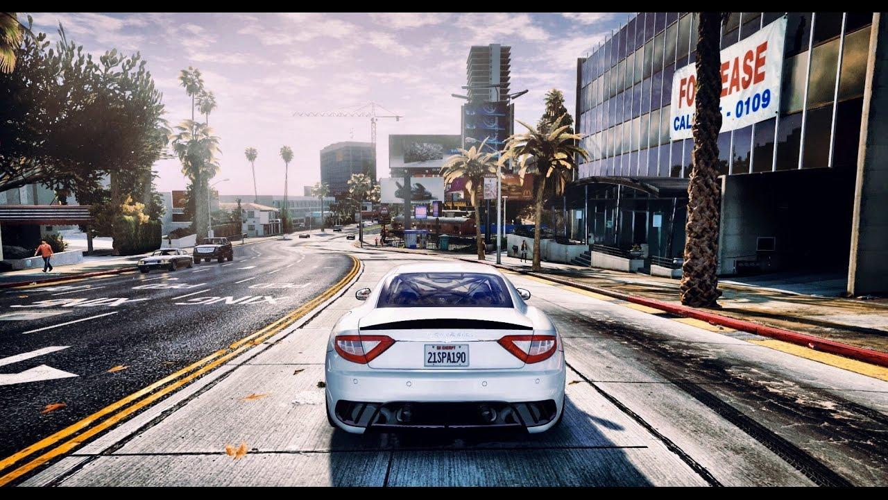 GTA 5 REDUX - Ultra Realistic Graphic ENB MOD - 1080p 60 ...