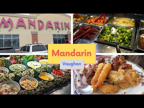 The Best Chinese Buffet In Toronto - Mandarin Vaughan | A Tour Of The All You Can Eat Buffet Menu