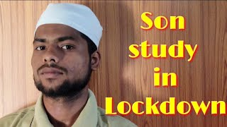 Son study in Lockdown | Vivek yadav ji