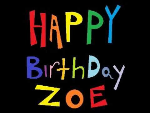 happy birthday zoe you earned it youtube. Black Bedroom Furniture Sets. Home Design Ideas