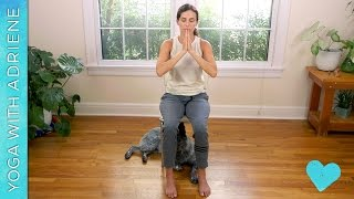 Wheelchair Yoga - Gentle Chair Yoga Routine - Yoga With Adriene
