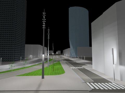 Dialux Evo : Street Lighting Design