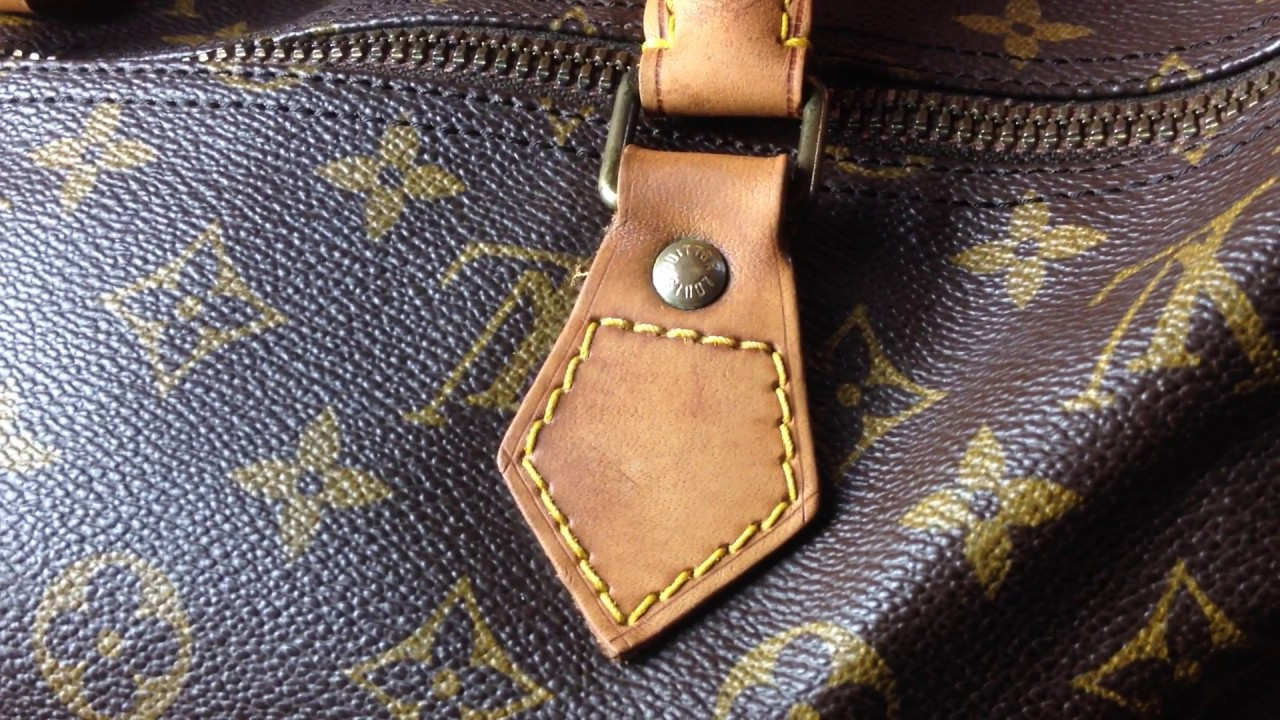 Leder Reinigen Vintage Louis Vuitton Speedy Leder Reinigen Und Pflegen 3 5 How To Tutorial