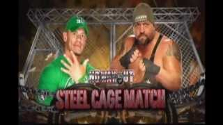 WWE No Way Out 2012 - John Cena vs Big Show (Steel Cage)