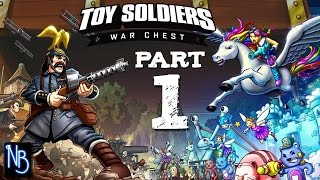 Toy Soldiers War Chest Walkthrough Part 1 No Commentary