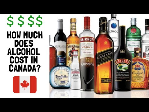 Alcohol Prices In CANADA| Are We Getting Ripped Off??