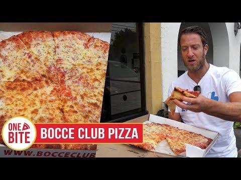 Barstool Pizza Review - Bocce Club Pizza (Buffalo, NY)