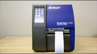 BradyPrinter i7100 Industrial Label Printer: An Overview