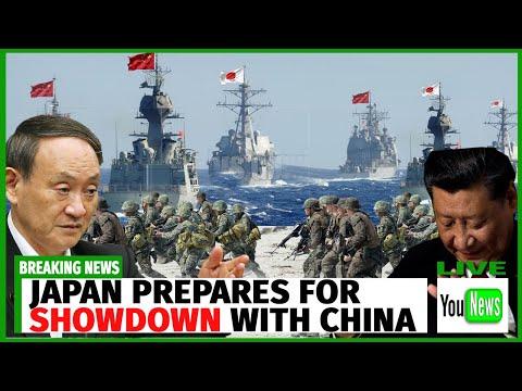 Japan prepares for showdown with China over Senkaku islands row.