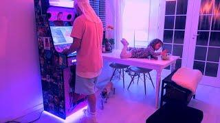 Familia Skillz Unboxing joc arcade cu fisa de Skizzo si fii-sa