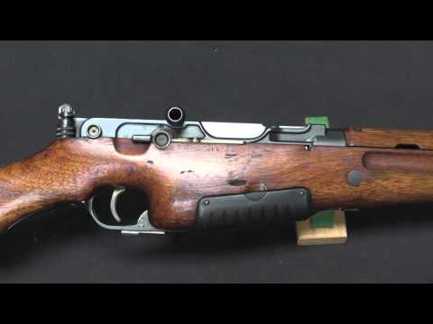 Japanese Army Pedersen Copy Trials Rifle