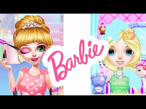 Barbie Princess   Princess Makeup   Barbie Salon   Kids Care   Girls Games