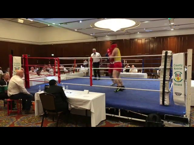 2018 County Antrim Belfast Boxing Classic - Fight 6