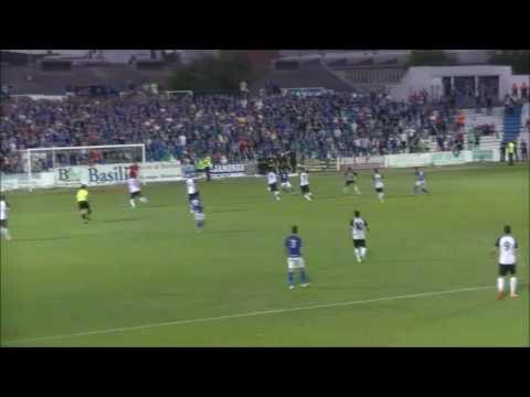 Gol Fran Carles en el LINARES DPTVO. 1-0 C.D.CASTELLÓN. D.E.P.