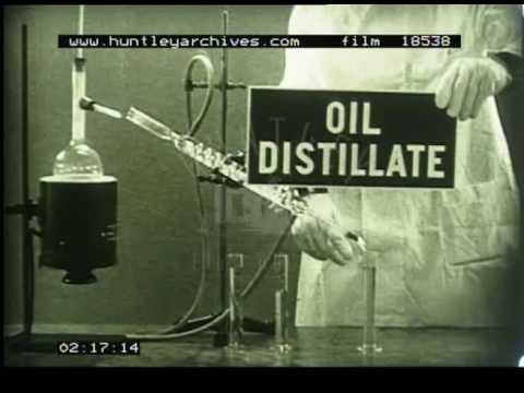 Processing Crude Oil, 1930s - Film 18538