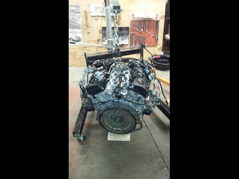 2011 FORD F150 TRUCK: 3.5 V-6 ECOBOOST ENGINE FAILURE (Removal and Installation).